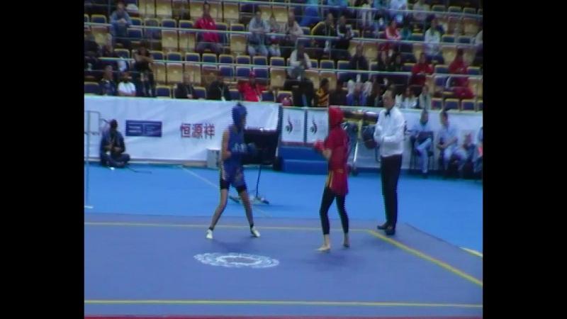 Berna TUT, Turkey VS Saidi YASMINA, Algeria. Round 2