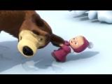 Маша и Медведь - Песня про следы (Следы невиданных зверей)