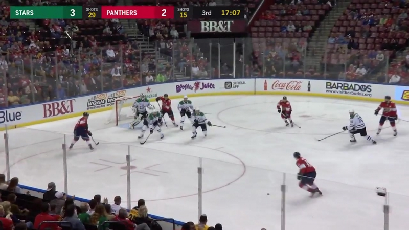Флорида - Даллас / Обзор матча / Luongo, Panthers take down Stars in 4-3 SO victory