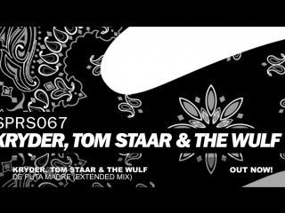 Kryder, Tom Staar The Wulf - De Puta Madre (Extended Mix)