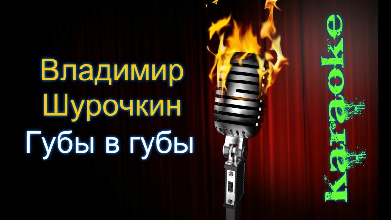 Владимир Шурочкин - Губы в губы ( караоке )
