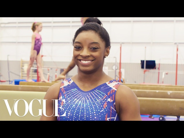 73 Questions With Simone Biles | Vogue