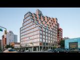 ODA creates stepped terraces at corner of Brooklyn condo building