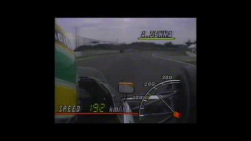 Ayrton Senna Revs @ Onboard Suzuka 1989 with James Hunt Commentary Japan 🇯🇵