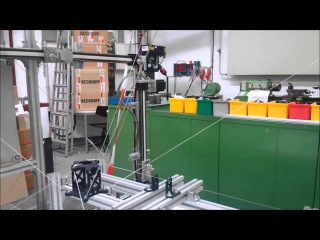 Extreme Fast Cable-Driven Parallel Robot