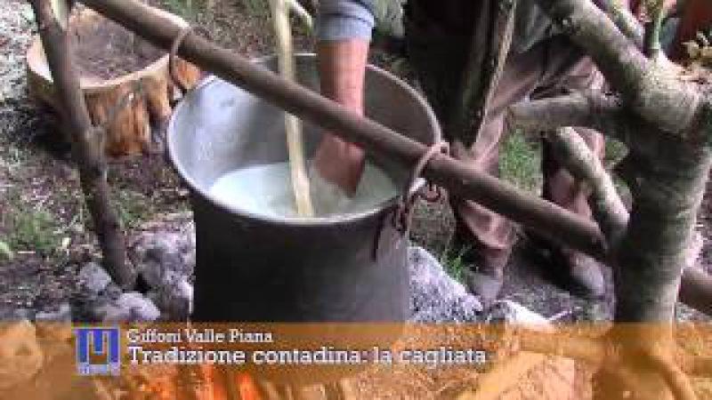 Tradizione contadina la cagliata. Крестьянская традиция кальята (калье).