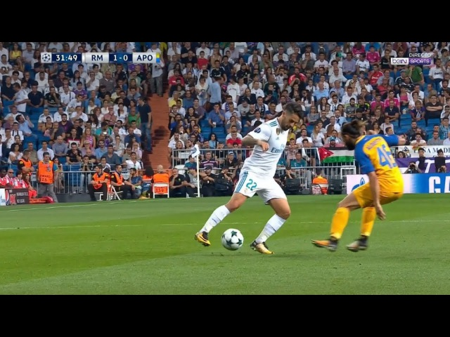 Isco vs Apoel Nicosia UCL Home HD 720p (13/09/2017)