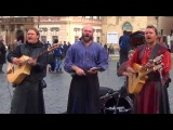 Bohemian Bards live in Prague's Old Town Square