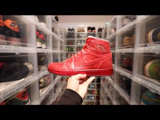 THE WORLDS MOST EXPENSIVE SNEAKER COLLECTION