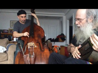 Climate Change Bad Ass Wife Blues Guitar Finger Picking Blues With Bass Fiddle By Marc Schmied