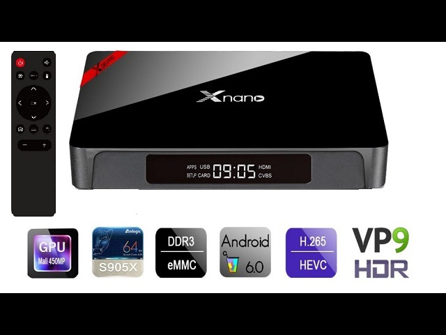 Xnano X96 Pro Amlogic S905X TV Box