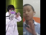 a little boy of Dimash's fans sing the song of SOS