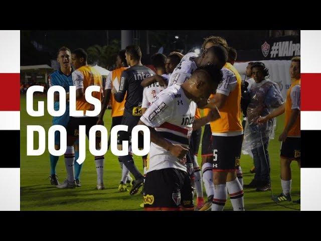 GOLS DE MILITÃO E CUEVA: VITÓRIA 1 X 2 SPFC   SPFCTV