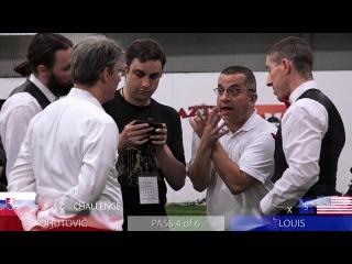 IGX 2016 Advanced Longsword Semis and Finals (Kohutovic, Kultaev, Louis, Tibensky)