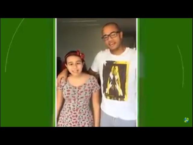 Filha de Roger Giulia festeja a cura do pai