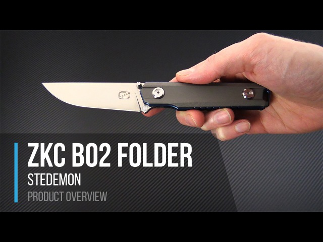 Stedemon ZKC B02 Folding Knife Overview