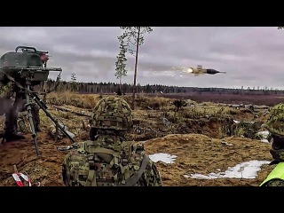Tank & Anti-Tank In Estonia • M1A2 Abrams & Milan 2
