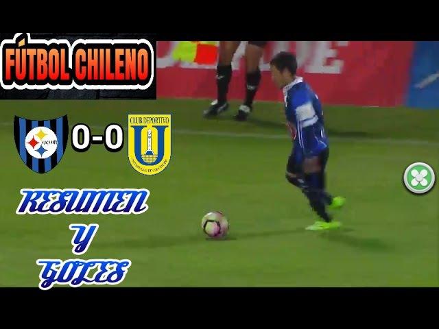 RESUMEN Y GOLES | HUACHIPATO 0-0 U. DE CONCE | FECHA 11