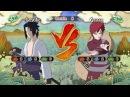 Играем в Naruto Shippuden 6 Sasuke vs Gaara