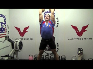VF Workout 143 - Ivan Denisov Jerk 48kg / 106lb kettlebells