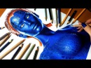 Speed Drawing Jennifer Lawrence as Mystique Jasmina Susak
