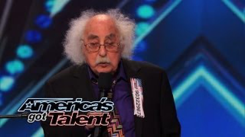 Ray Jessel: 84-Year-Old Sings a Naughty Original Song - America's Got Talent 2014