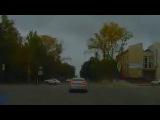 На перекрестке столкнулись два автомобиля: видео с регистратора
