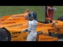IndyCar Series 2017. Indy 500. Fernando Alonso Out Interview