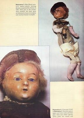 одновременно двигающиеся ноги, руки, голова и веки, а также способность говорить «пап и мама», прежде никогда не достигались в одной игрушке.