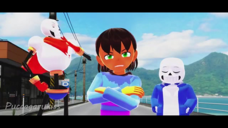 [Undertale 💖 Parody] - Anime Opening - 東方博霊荘
