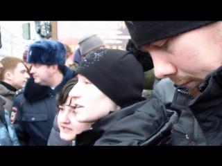 Разгон гей-парада в Воронеже