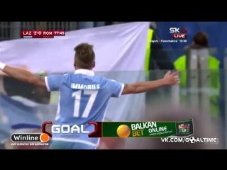 Лацио - Рома 2:0. Обзор матча. Кубок Италии 2016/17. 1/2 финала. 1-й матч.