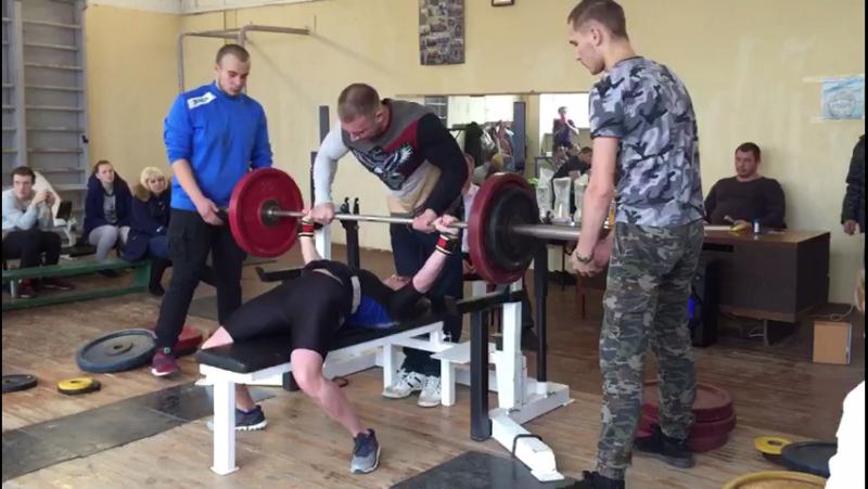 Ксения Торопушина 90 кг