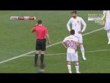 Первый не засчитанный гол в футболе, при помощи видео повтора. [Rap Live]