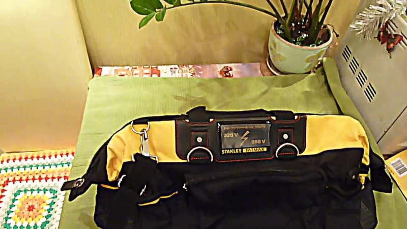 Обзор сумки для инструмента Stanle Fatmax 18