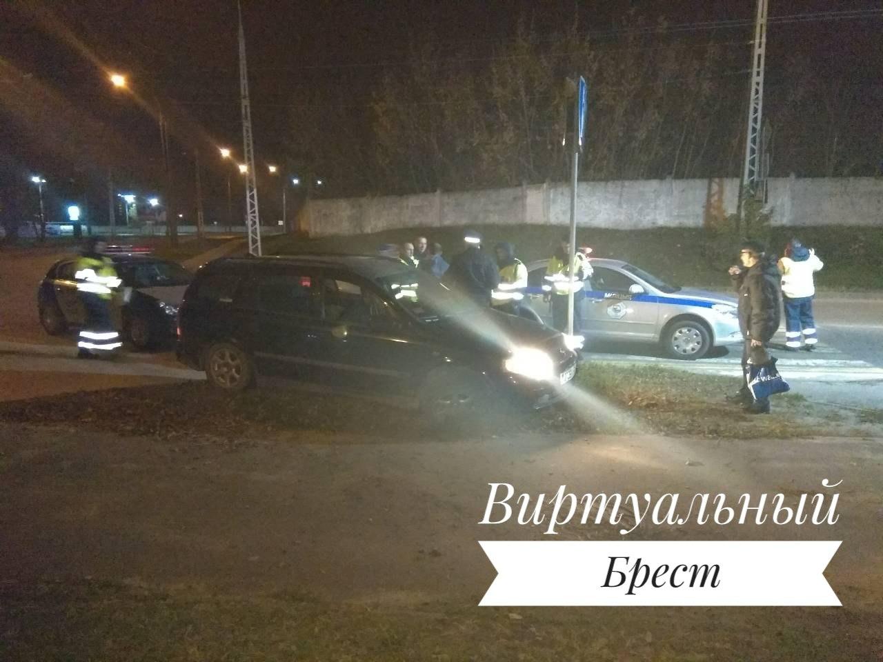 Ночью сотрудники ГАИ провели задержание нарушителя