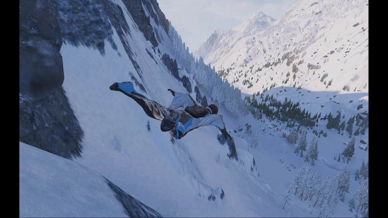 Steep Wingsuit Chillout Part 1