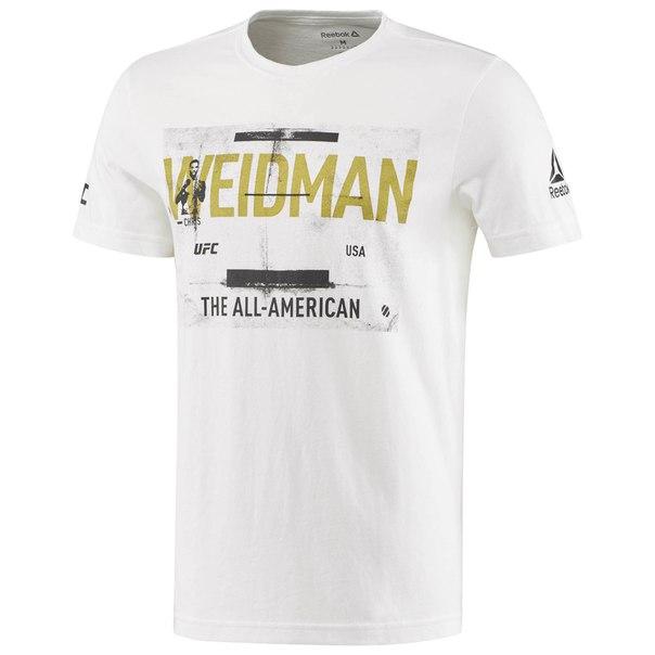 Спортивная футболка UFC Chris Weidman Fighter