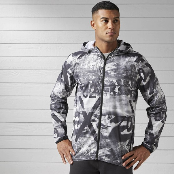 Спортивная куртка Lightweight Stripe Camo