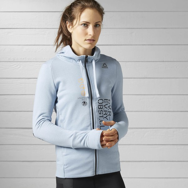 Худи Reebok Spartan Race Full-Zip
