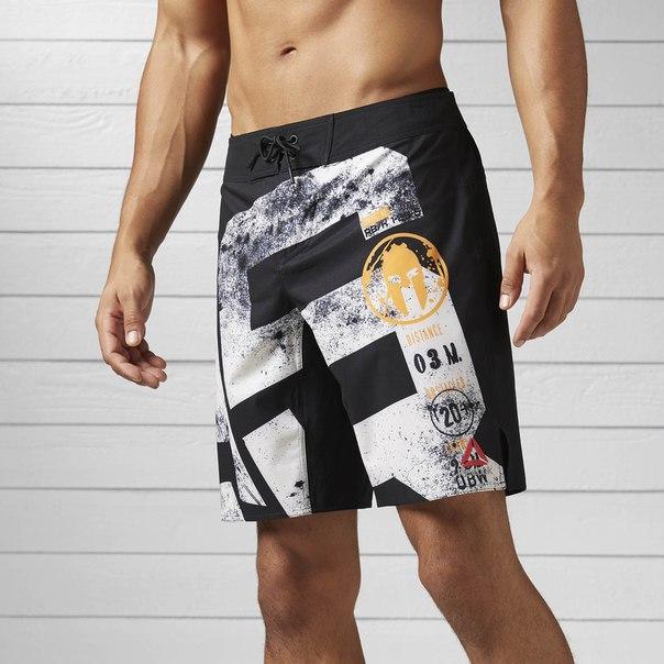 Спортивные шорты Reebok Spartan Stealth Mud