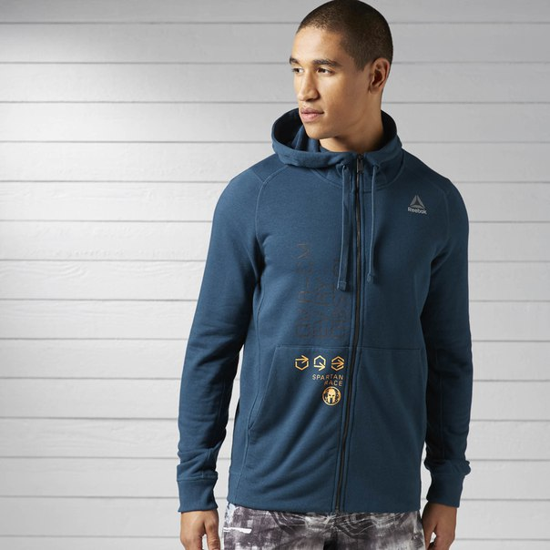 Худи Reebok Spartan Race Full Zip
