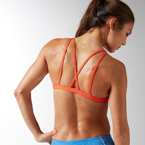 Спортивный бюстгальтер Reebok CrossFit Skinny Double Strap
