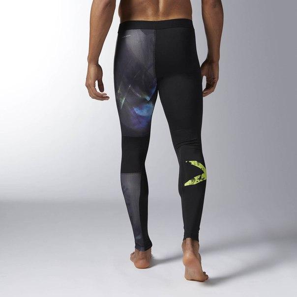 Компрессионные брюки Acid Ombre Elite