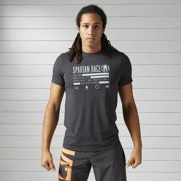 Спортивная футболка Reebok Spartan Race Tri-blend