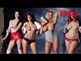 Emma Glover, Holly Peers, Leah Francis, Lucy Collett Nuts all big tits