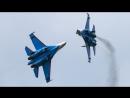 Российские асы показали фигуры высшего пилотажа на Су 27 в небе Ирана