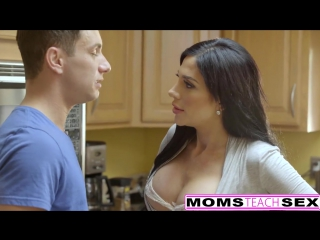 MOMSTEACHSEX - FIRST TIME THREESOME IS WITH STEP MOM! anal, porno, milf, POV, HD, big tits