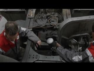 Как выпрямляют Mercedes