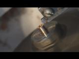 Токарная обработка золота. Токарна обробка. Lathe work.